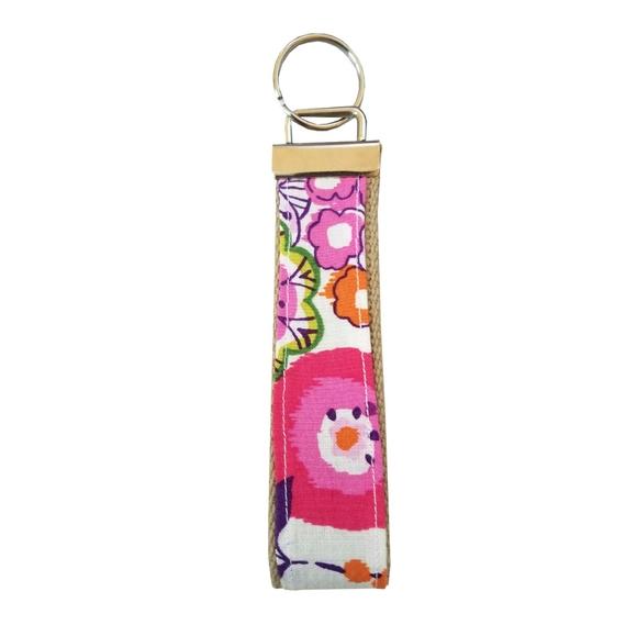 Accessories - Clementine Pattern Handmade Keychain